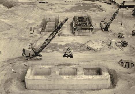 Fondations Du Massif Ancrage Pont de Tancarville