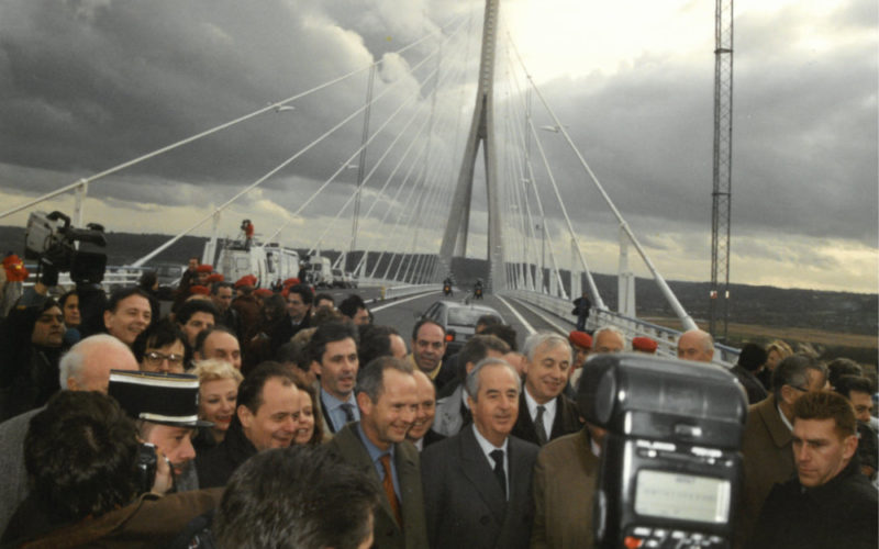 Inauguration Pont de Normandie