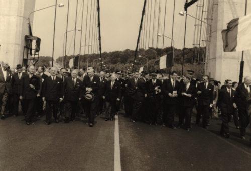 Inauguration Pont de tancarville