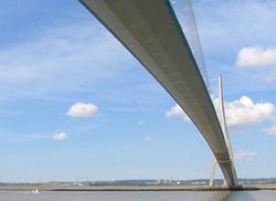 Tablier métallique Ponts de Normandie