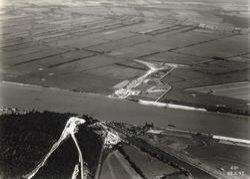 choix du site d'implantation du Pont de Tancarville
