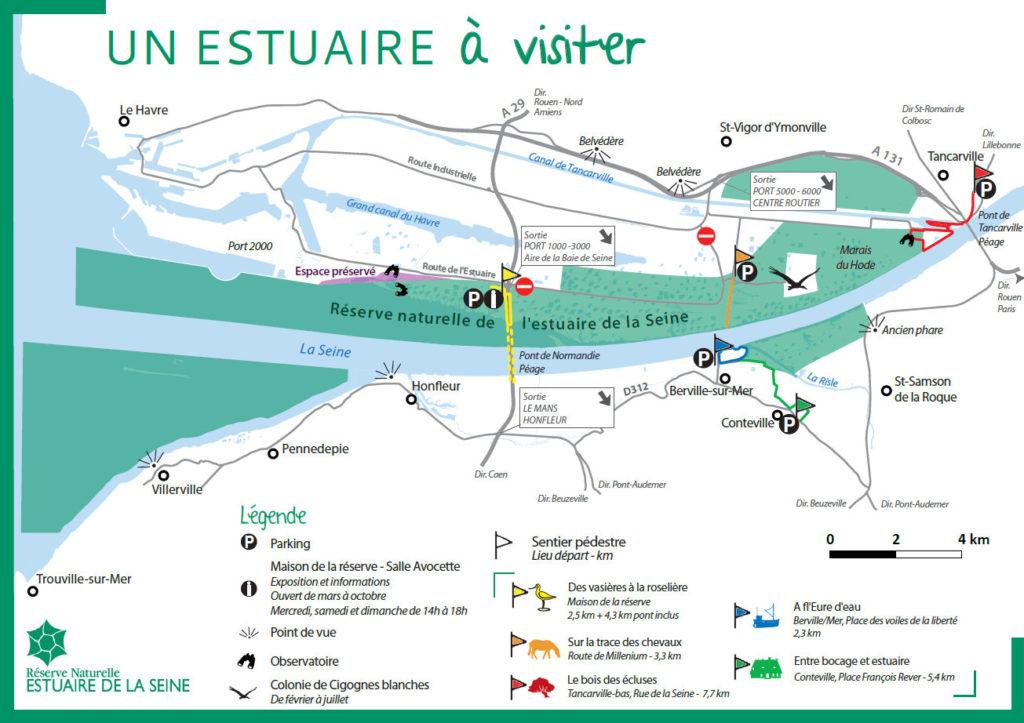 Un Estuaire A Visiter Pont De Tancarville Normandie