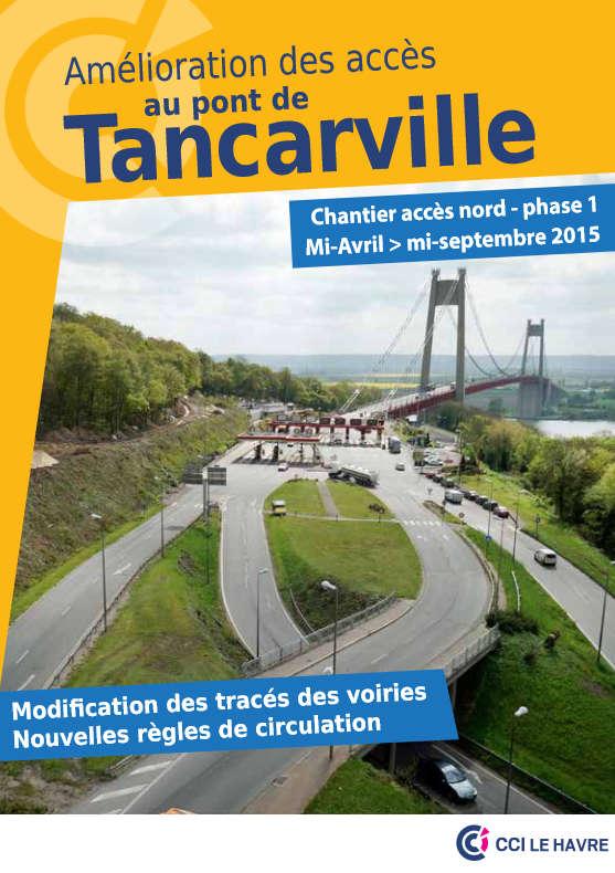 Amélioration Des Accès Au Pont De Tancarville Chantier