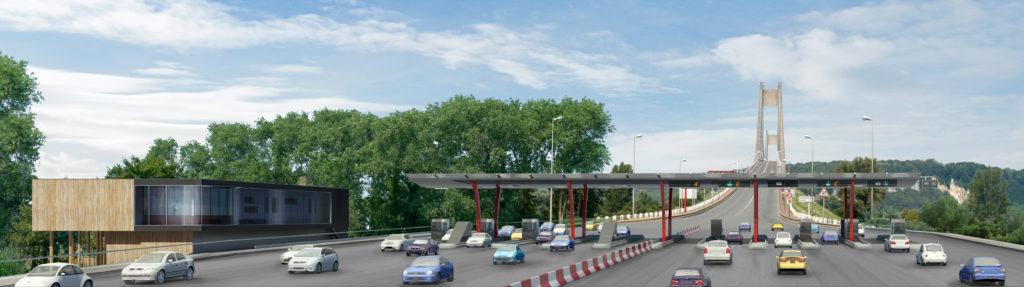 Aménagement Des Accès Pont De Tancarville Bâtiment Exploitation