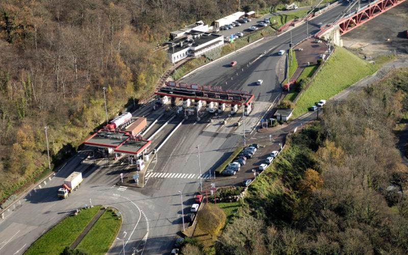 Aménagement Des Accès Pont De Tancarville Gare De Péage 03